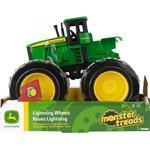 Toy Car - Lights Tomy John Deere Monster Treads Lightning Wheels 8''