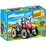 Tractors Playmobil Large Tractor 6867