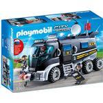 Play Set Playmobil Swat Truck 9360