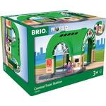 Train Track Extensions - Wood Brio Central Train Station 33649