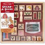Creativity Sets - Wood Melissa & Doug Farm Stamp Set