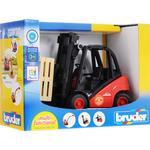 Toy Cars Bruder Linde Fork Lift H30D With 2 Pallets 02511