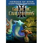 Game Add-on PC Games Galactic Civilizations III: Heroes of Star Control - Origins
