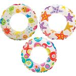 Swim Ring - Plasti Intex Lively Print Swim Rings