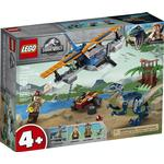 Lego Jurassic World Lego Jurassic World Velociraptor: Biplane Rescue Mission​ 75942