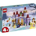 Plasti - Lego Disney Lego Disney Belle's Castle Winter Celebration 43180