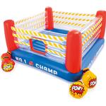 Plasti - Bouncy Castles Intex Jump O Lene Boxing Ring Bouncer