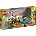 Lego Creator 3-in-1 Caravan Family Holiday 31108
