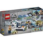 Plasti - Lego Jurassic World Lego Jurassic Park Dr. Wu's Lab: Baby Dinosaurs Breakout 75939