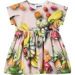 Ruffled Dresses - Short sleeve Children's Clothing Molo Channi - Tutti Frutti (4S20E106 6046)