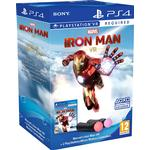 VR Support (Virtual Reality) PlayStation 4 Games Marvel's Iron Man VR - Move Controller Bundle