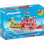 Playmobil Fire Rescue Boat 70147