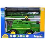 Toy Car - Plasti Bruder John Deere Combine Harvester T670i 02132