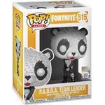 Figurines - Panda Funko Pop! Games Fortnite Panda Team Leader