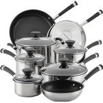 Circulon Acclaim Stainless Steel Set with lid 8 Parts