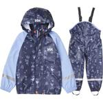 Reflectors - Rain set Children's Clothing Helly Hansen K Bergen Aop PU Rainset - Navy (40361-597)