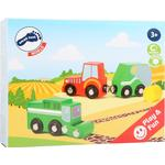 Toy Cars Legler Farm Vehicle Set