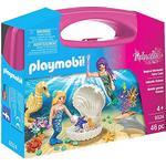 Princesses - Play Set Playmobil Princess Magical Mermaids Carry Case 9324