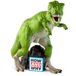 English Books Tonies How and Why The Age of Dinosaurs / Prehistoric Animals Audio Character