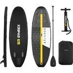 SUP - Black Gymrex Paddle Board Set 365cm