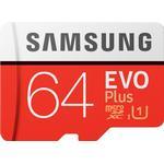 Samsung Evo Plus 2020 microSDXC MC64HA Class 10 UHS-I U1 64GB