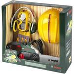 Sound - Outdoor Toys Klein Bosch Chainsaw with Helmet & Worker Gloves 8532