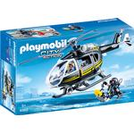 Police Toys Playmobil Swat Helicopter 9363