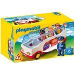 Bus Playmobil 1.2.3 Airport Shuttle Bus 6773