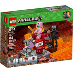 Cheap Lego Minecraft Lego Minecraft The Nether Fight 21139