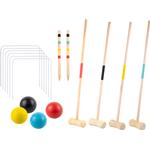 Outdoor Sports - Wood PlayFun Croquet Set