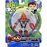 Action Figures Playmates Toys Ben 10 Omni Kix Armor Heatblast