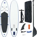 SUP - White vidaXL Inflatable SUP Surfboard Set 300cm