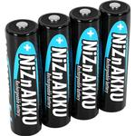 Black - Camera Batteries Ansmann NiZN Mignon AA 2500mAh 4-pack