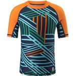 UV-Clothes Children's Clothing Reima Kids' Swim Shirt Fiji - Navy (536487C-6982)