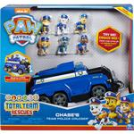 Police - Car Spin Master Paw Patrol Total Team Rescue Chase's Team Police Cruiser