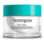 Moisturizer - Under Eye Bags Neutrogena Skin Detox Dual Action Moisturiser 50ml