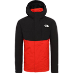 The North Face Mountain Light Triclimate Jacket - TNF Black/Fiery Red