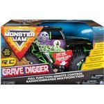 RC Work Vehicles Spin Master Monster Jam Grave Digger RTR 6044994