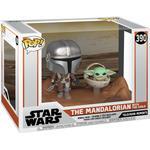 Star Wars - Figurines Funko Pop! Star Wars the Mandalorian & the Child Baby Yoda