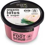 Foot Scrubs - Scrub Organic Shop Organic Lotus & Sugar Foot Scrub 250ml