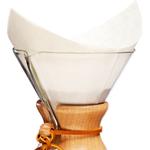 Coffee Filters Chemex FS-100 Pre Folded Square Filter 100pcs