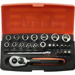 Head Socket Wrenches Bahco SL25 Set 25-parts