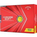 Golf ball - Green Callaway Chrome Soft Tripple Track (12pack)