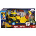 Bob the Builder Toys Dickie Toys Bob the Builder Action Team Scoop + Bob