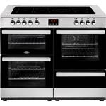 Ceramic Cooker Belling Cookcentre 110E Stainless Steel