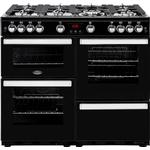 Gas Oven Belling Cookcentre 100G Black