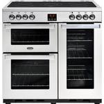 Ceramic Cooker Belling Cookcentre 90E Stainless Steel