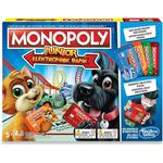 Childrens Board Games on sale Hasbro Monopoly Junior Elektronisk Bank