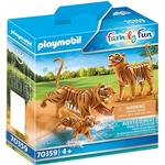 Toy Figures - Tiger Playmobil Family Fun Tigers with Cub 70359