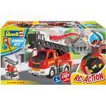 RC Work Vehicles Revell Junior Kit Fire Ladder RTR 00974